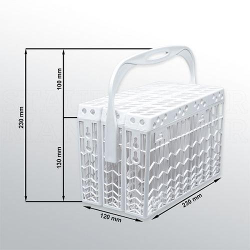 Universal Besteckkorb geeignet für Hanseatic Spülmaschinen Geschirrspüler