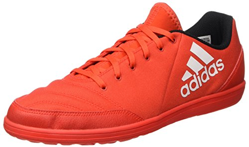 adidas X 16.4 Street, Scarpe da Calcio Uomo, Rosso (Hi-Res Red/Ftwr White/Power Red), 43 1/3 (Hi Calzature Da Ginnastica)