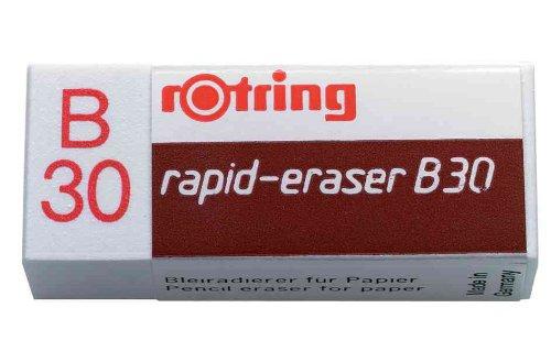 """Rotring–Juego de 3gomas """"rapid-eraser B30"""