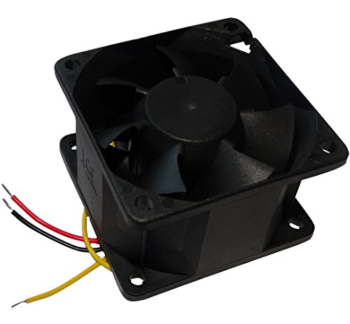 AERZETIX: Ventilateur pour boîtier 24V 60x60x38mm 96m3/h 56dBA 8000rpm 10.3W 0.43A à Billes C14531