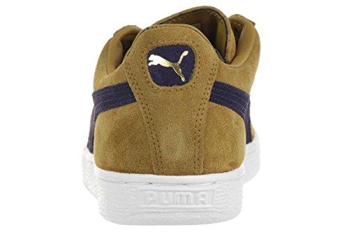 Puma Suede Classic Sl Wn'S, Baskets mode femme Beige (Bistre/Peacoat)