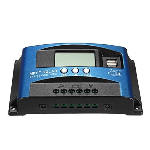 Yapott 40A MPPT Solarpanel Regler Laderegler 12 V / 24 V Autofokus Tracking Device-40A