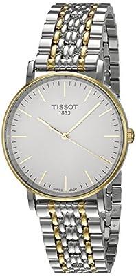 Tissot T-classic Reloj De Hombre Cuarzo 38mm Dial Blanco T1094102203100 de S.M.H. ESPAÑA S.A. TISSOT