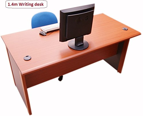 Cheapest Price for 1.4 meter – Office Computer desk, a study desk for Office and Home (Cherry / dark grey) Discount
