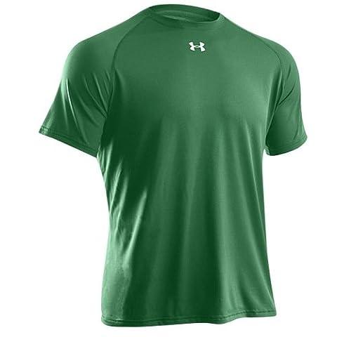 Under Armour Locker Short Sleeve T-Shirt Team Kelly Green / White Small Kelly Green/White