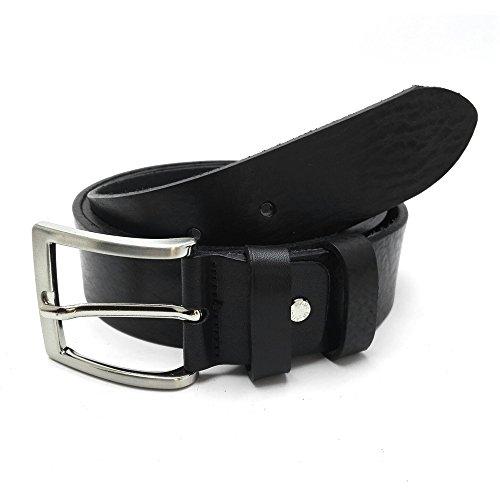 MYB Cintura per uomo 100% vera pelle Made In Italy no cuciture diversi colori e misure