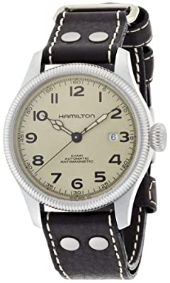 Hamilton Men's Analogue Automatic Watch with Leather Strap H60455593