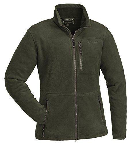 Pinewood Finnveden Damen Fleece Jacke, Grün, XL