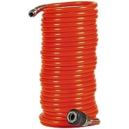 Einhell 4139420 Tubo Elicoidale, 8 M, Diametro Interno di 6 mm, Arancione