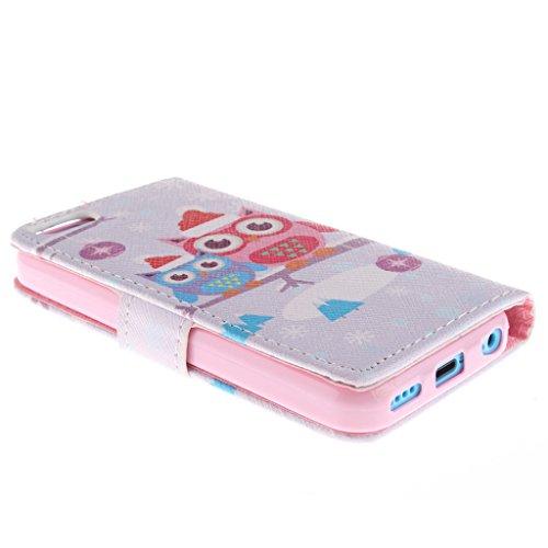 Nutbro [iPhone 5C] 5C Case,PU Leather iPhone 5C Case,iPhone 5C Phone Case,iPhone 5C Phone Cover Case PU Leather Case Wallet for iPhone 5C ZZ-5C-16