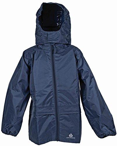 für Jungen und Mädchen Rot für Kinder ab 1 J. DRY KIDS Regenanzug