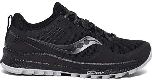 Saucony Xodus 10 Zapatillas para Correr sobre Camino de Tierra o Montaña con Soporte Neutral para Hombre Negro 48 EU