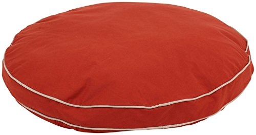 CPC Classic Baumwolle/Twill Round-a-Bout Bett für Haustiere, 27, rot -