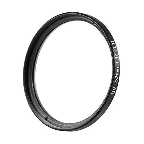 Noradtjcca 52mm Haze UV   Filter Objektiv 52mm Objektivschutz Für DSLR/SLR/DC/DV Kameraobjektiv Staubdicht Feuchtigkeitsbeständig Kratzfest (52mm Objektiv-filter)