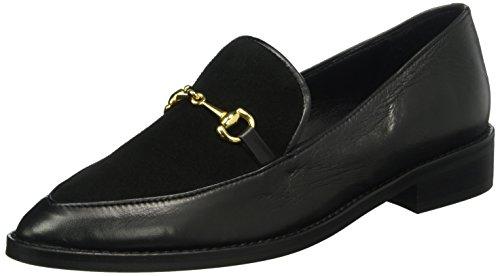 GARDENIA COPENHAGEN Damen Shoe Loafer Slipper, Schwarz (Black 10), 39 EU -