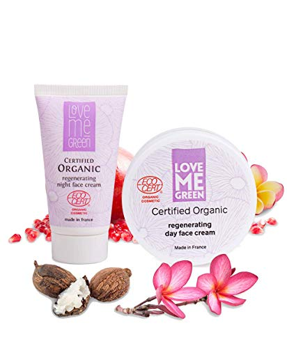 Organic Anti Aging Day & Night Cream, ohne Parabene, zertifiziert durch ECOCERT greenlife