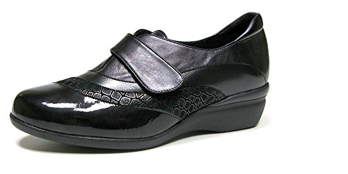 DOCTOR CUTILLAS, Mocassini donna nero Size: 39