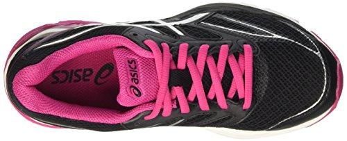 Asics Gel-Pulse 8 W, Chaussures de Sport Femme Nero (Black/Silver/Sport Pink)