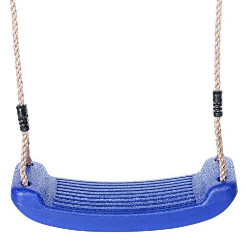 Schaukelsitz Schaukelbrett Kunststoff Farbe blau von Gartenpirat®