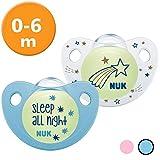 Nuk Trendline Night & Day Schnuller mit Leuchteffekt