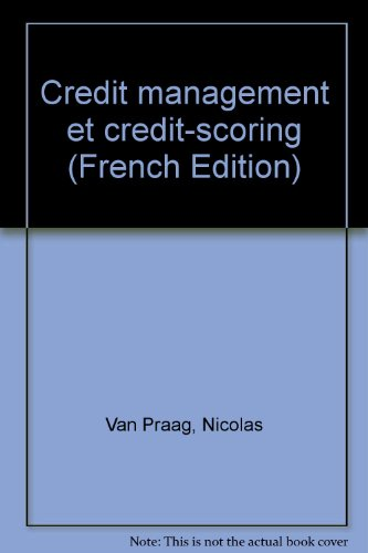 Credit management et credit-scoring