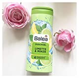 Balea Duschgel - Limette & Minze mit AquaCellSoft Feuchtigkeitsformel (1x300ml)