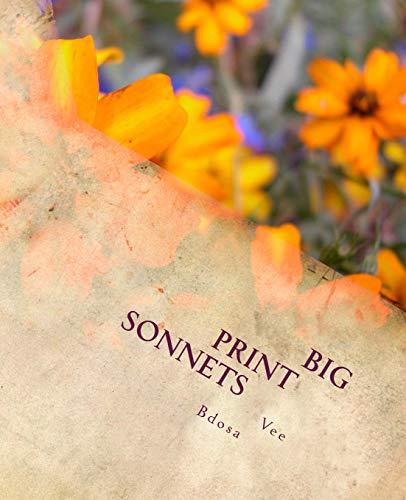 Big Print Sonnets por Vee Bdosa