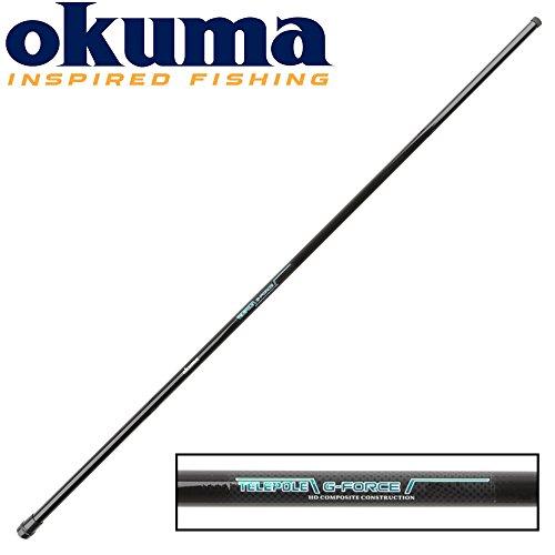 Okuma G-Force TelePole 600cm - Stippangel, Stipprute zum Ansitzangeln, Stippangelrute für Brassen & Plötzen, Angelrute zum Stippen