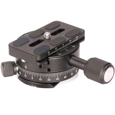 Leofoto PAN-01 + QP-70 Panoramaklemme doppelseitig