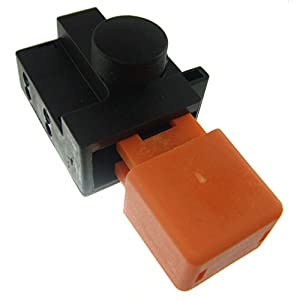 Ufixt® Fits Flymo Glider 330 (9666187-42), Glider 350, Glider 350 (9660192-41) and Hover Compact 300 Lawnmower Switch 8A 250V ON/Off