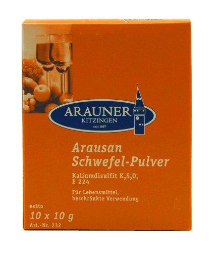Arauner Kitzinger Arausan Schwefel-Pulver, 10x10g