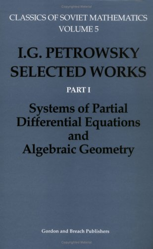 I.G. Petrovskii: Two Volume Set