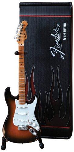 Axt Heaven fs-001Fender Stratocaster Classic Sunburst-Finish Miniatur-Gitarre