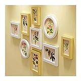 XUEYAN Wohnzimmer Bilderrahmen Wand, Kiefer Holz Bilderrahmen Collage Schlafzimmer Wand Dekorative Malerei 122 * 71 cm