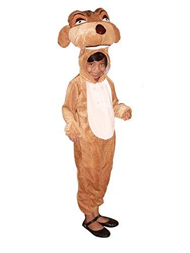 , Su02/00 Gr. 116-122, für Kinder, Erdmännchen-Kostüme für Fasching Karneval Fastnacht Fasnet Klein-Kinder Karnevalskostüme, Kinder-Faschingskostüme, Geburtstags-Geschenk (Erdmännchen Kostüme Für Erwachsene)