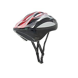 Durable Erwachsener Radfahren Skateboard Helm Rüstung Rot Schwarz