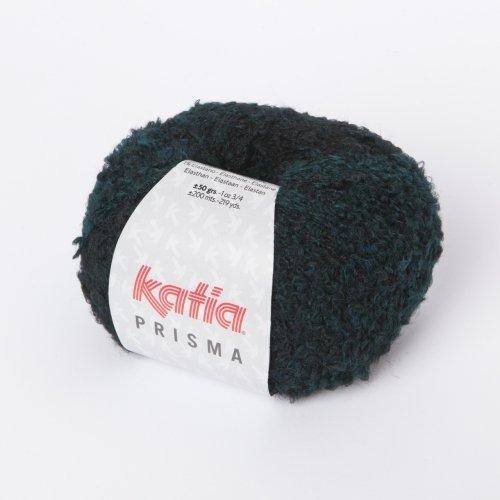 Katia Prisma - Farbe: Canard/Negro (108) - 50 g / ca. 200 m Wolle (Prisma Garn)