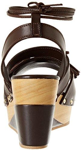 Pennyblack Damen Scudo Pumps Marrone (marrone Scuro)