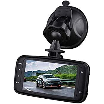 Pongaps Multi-function HD Driving Recorder K6000 Super Wide-angle Night Vision Alarm Systems /& Security