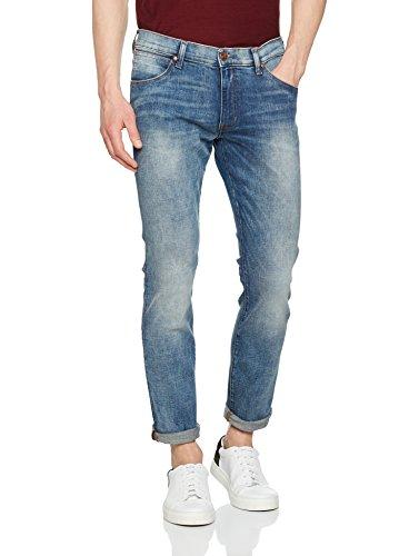 Wrangler Herren Larston Blue Mick Jeans Blau (Blue Mick)