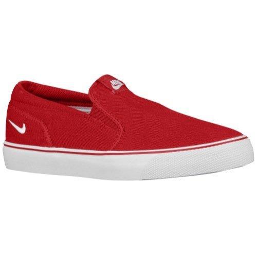 Nike slip on uomo Toki Slip TXT red (42)