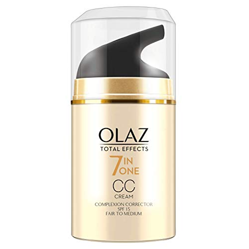 Olaz Total Effects CC Cream Mit LSF 15 Hell Bis Mittel, 50 ml