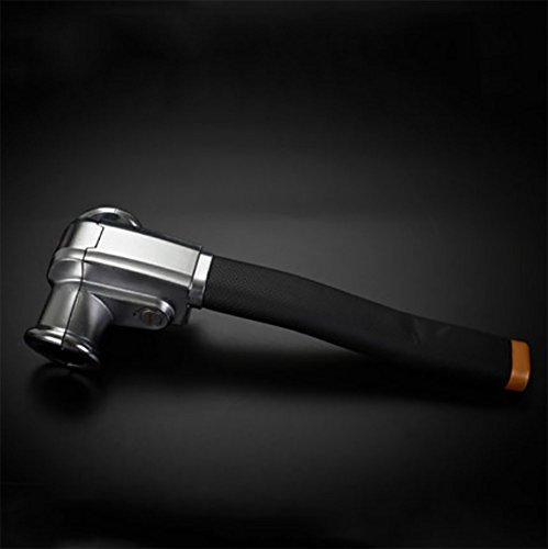 RUIX Lenkradschloss T-Typ Auto Diebstahlsicherung Lenkerschloss,Black