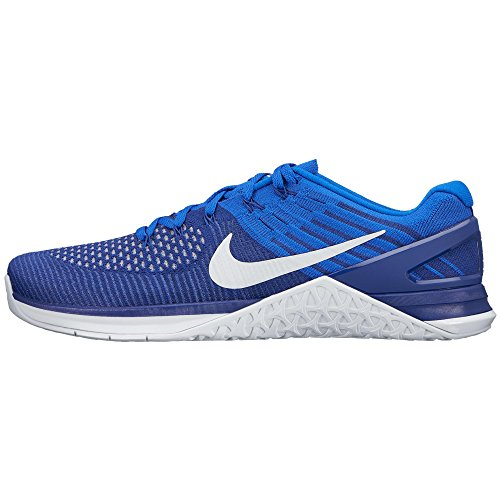 Nike PerformanceMETCON DSX FLYKNIT - Zapatillas fitness e indoor - deep royal blue/white/racer blue
