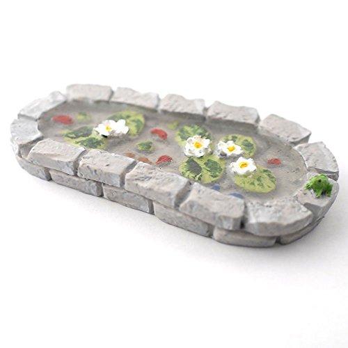 Miniatur Maßstab 1/12. Fairy Garden Teich Schmuck Blumentopf (Zubehör), Roll Over Bild zu Zoom im kleinen Maßstab 1/12. Fairy Garden Fairy Garden Teich Schmuck Blumentopf (Fairy Garden Zubehör)