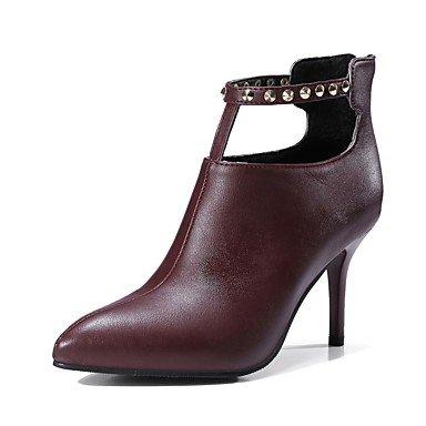 Rtry Chaussures Femme Matériel Personnalisé Automne Hiver Pompe Base Confort Bottes Talon Stiletto Bout Fermé Toe Booties / Rivets Rivets Us6 / Eu36 / Uk4 / Cn36