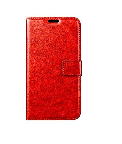 NKV PU Leather Mobile FLIP Cover for panasonic ELUNGA P55 NOVO