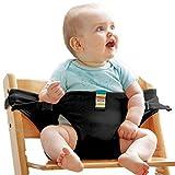 Scettar Baby Waiatband Tragbar Stuhl-Sitzgurt Esszimmerstuhl Sicherheitsgurt Hochstuhltragbare Stuhl Babysitz Baby Esszimmerstuhl Sicherheitsgurt für Babys Kleinkind