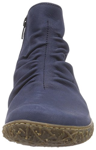 El NaturalistaN755 NIDO - Stivali classici imbottiti a gamba corta Donna Blu (Ocean)