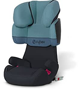 cybex silver kinderautositz solution x fix gruppe 2 3 15 36 kg water colours kollektion. Black Bedroom Furniture Sets. Home Design Ideas